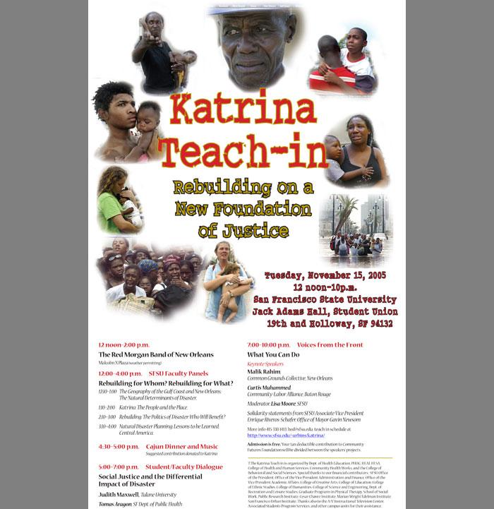 SFSU-Katrina-Poster