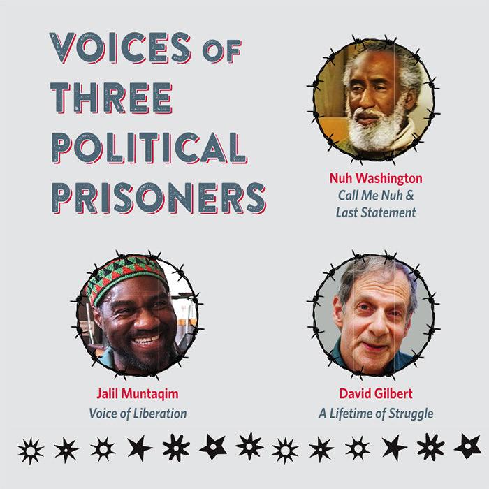 Voices of 3 political prisoners DVD Sleeve v3.indd