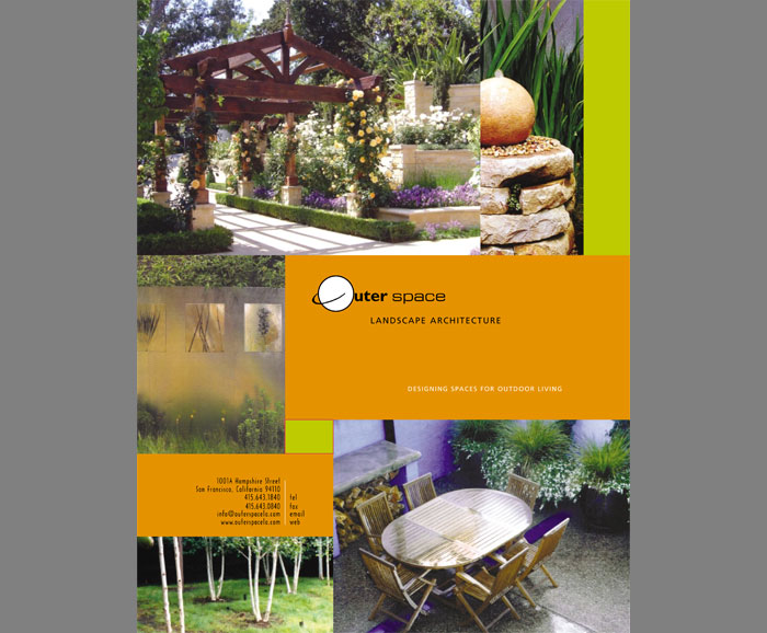 Outer space landscape architecture lisa roth grafix for Outer space garden design