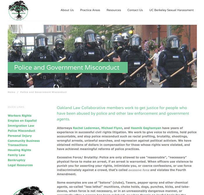 Oaklaw-police
