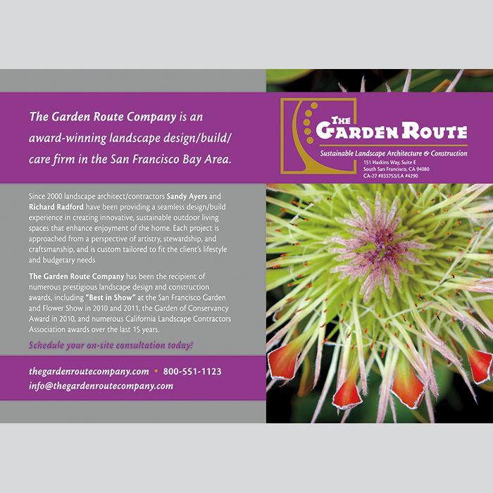 Garden Route Card
